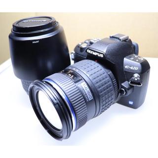 オリンパス(OLYMPUS)のオリンパス E-420 ボディ レンズ2本セット(デジタル一眼)