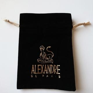 アレクサンドルドゥパリ(Alexandre de Paris)の新品*°アレクサンドル ドゥ パリ 巾着(バレッタ/ヘアクリップ)