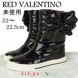 レッドヴァレンティノ(RED VALENTINO)のレッド ヴァレンティノ 未使用 22~22.5 ハイカット スニーカー ブーツ(ブーツ)