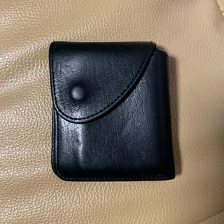 エンダースキーマ(Hender Scheme)のhender scheme 財布 ブラック(折り財布)
