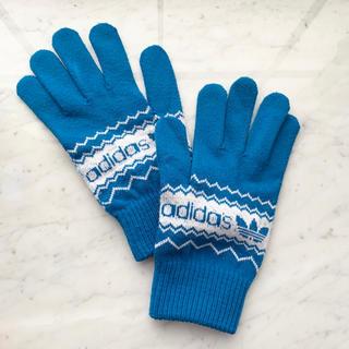 アディダス(adidas)のadidas originals アディダスオリジナル ロゴ グローブ 手袋 (手袋)