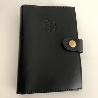 イルビゾンテ(IL BISONTE)のイルビゾンテ手帳 黒(手帳)