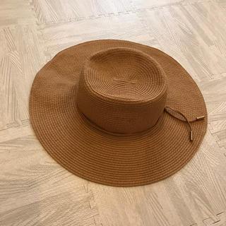エイチアンドエム(H&M)のH&M ラフィアハット 麦わら帽子(麦わら帽子/ストローハット)