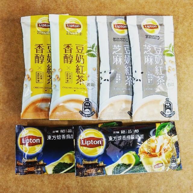 Unilever(ユニリーバ)の台湾リプトン東方美人茶ミルクティー/豆乳紅茶/ごま豆乳紅茶 食品/飲料/酒の飲料(茶)の商品写真