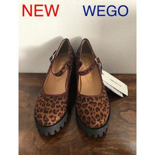 ウィゴー(WEGO)の新品 WEGO レオパード チャンキーヒールシューズ(ハイヒール/パンプス)