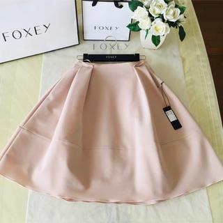 フォクシー(FOXEY)のフォクシー バロン♡ スカート ♡サイドタック(ひざ丈スカート)