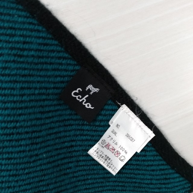 ECHO(エコー)のJAL機内販売 エコーニューヨーク ポンチョストール ケープ レディースのファッション小物(マフラー/ショール)の商品写真