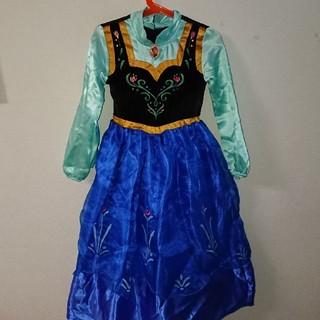 アナトユキノジョオウ(アナと雪の女王)のアナと雪の女王 アナ衣装110cm(衣装)