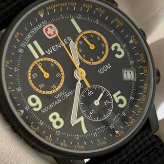 ウェンガー(Wenger)のジャンク wenger 707x マウンテンコマンド 不動 腕時計 部品取り(腕時計(アナログ))