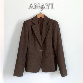 アナイ(ANAYI)のANAYI◆カシミヤ ウール テーラード ジャケット スーツ 卒業式 卒園式(テーラードジャケット)