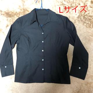 シャルレ(シャルレ)のシャルレ開襟長袖シャツLサイズ(シャツ/ブラウス(長袖/七分))
