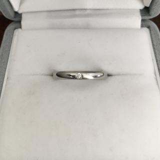 シチズン(CITIZEN)のシチズン サムシングブルー ダイヤモンド リング Pt999 2.7g(リング(指輪))