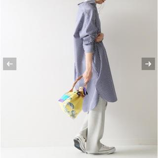 スピックアンドスパン(Spick and Span)のSpick & Span パールボタンロングシャツ(シャツ/ブラウス(長袖/七分))