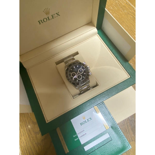 116523ng | ROLEX - ロレックス デイトナ 黒文字盤 116500LN 国内�証付� ROLEX�通販 by Balocco's shop