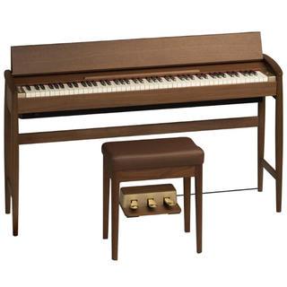 ローランド&カリモク 電子ピアノ(ウォールナット)【専用固定椅子付き】(電子ピアノ)