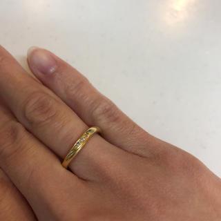 イエローゴールドリング    K18(リング(指輪))