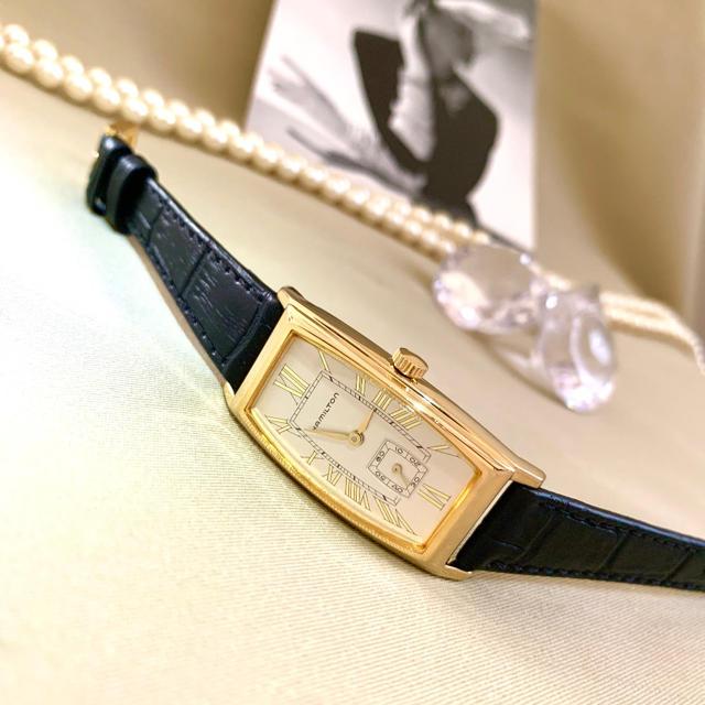 ハミルトン コピー 専門店 | Hamilton - 極美品✨電池ベルト交換 クリーニング済み ハミルトン レディース時計 カーライルの通販