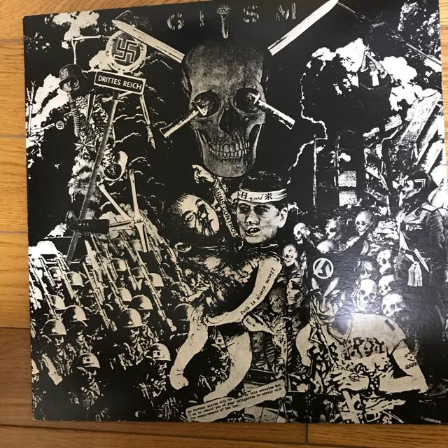 ギズム G.I.S.M detestation  GISM  LPレコード エンタメ/ホビーのコレクション(その他)の商品写真