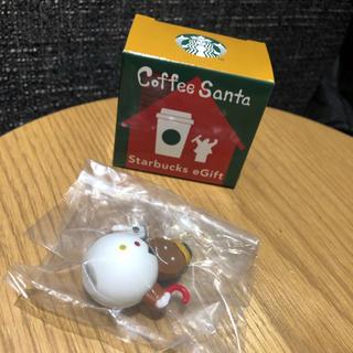 スターバックスコーヒー(Starbucks Coffee)のスターバックス egift コーヒーサンタ スノーマン(ノベルティグッズ)