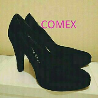 コメックス(COMEX)のコメックス♥グリッターラメヒール11㎝♥美品(ハイヒール/パンプス)