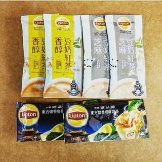ユニリーバ(Unilever)の台湾リプトン東方美人茶/豆乳紅茶/豆乳胡麻紅茶インスタントティー(茶)