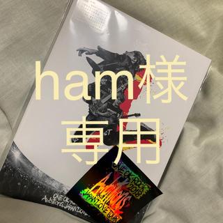 ワンオクロック(ONE OK ROCK)のワンオク  ambitious japan tour DVD(ミュージック)