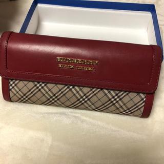 バーバリーブルーレーベル(BURBERRY BLUE LABEL)のBURBERRY ブルーレーベル 長財布(財布)