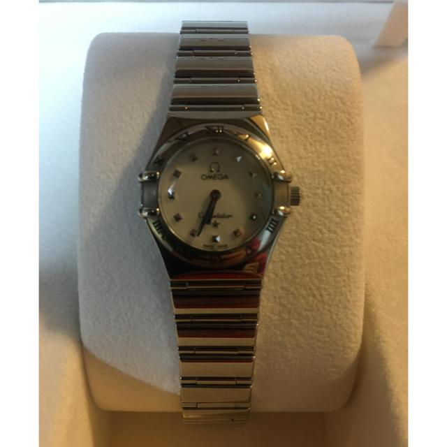 セリーヌ 財布 スーパーコピー 時計 - OMEGA - オメガ シェル盤 腕時計 レディース 保証書 箱など付属品付きの通販 by ☆sato☆'s shop