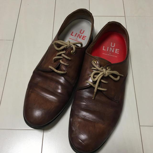 alfredoBANNISTER(アルフレッドバニスター)のU LINE by alfred BANNISTER メンズ 革靴 メンズの靴/シューズ(ドレス/ビジネス)の商品写真