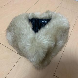 サリア(salire)の♥︎様専用 新品未使用 salire ファー マフラー(マフラー/ショール)