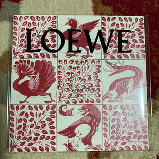 ロエベ(LOEWE)のSPUR*1月号付録*LOEWE*シール・ノート(ノート/メモ帳/ふせん)