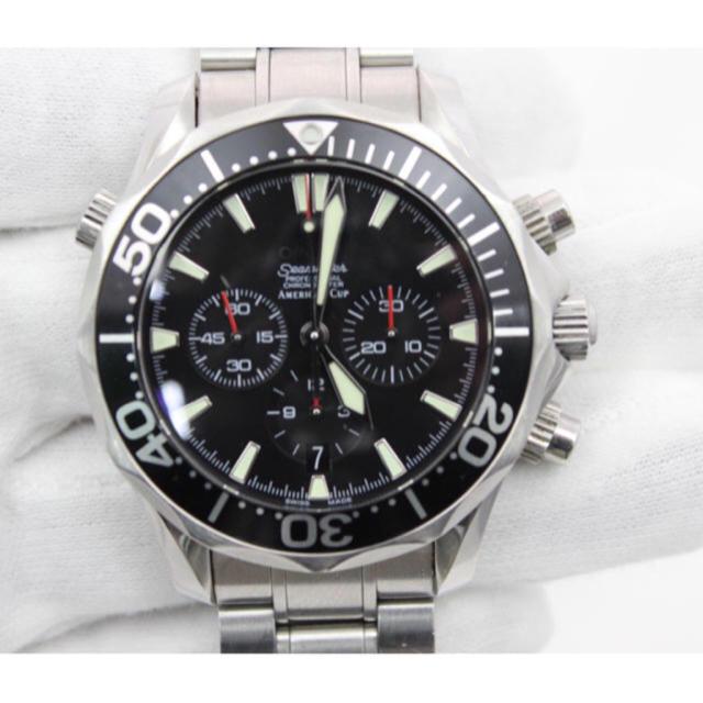 スーパーコピー 時計 ロレックス ミルガウス 、 OMEGA - オメガ シーマスター  アメリカズカップAT OMEGA メンズ腕時計の通販 by weaver_8's shop