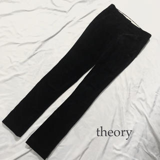 セオリー(theory)のtheory ベルベット パンツ XS S(カジュアルパンツ)
