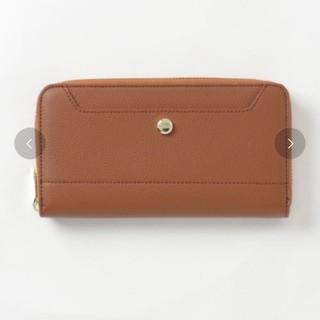 レガートラルゴ(Legato Largo)の新品 グレインフェイクレザーラウンドジップ長財布(財布)