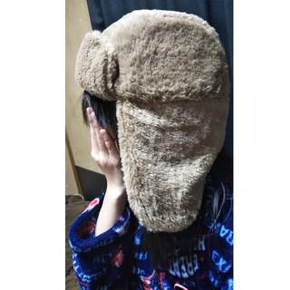 スリーコインズ(3COINS)のYuuu様専用 人気完売商品 3COINS ファー パイロット帽 KIDSサイズ(帽子)