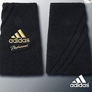 アディダス(adidas)の新品 adidas baseball professional リストバンド 黒(ウェア)
