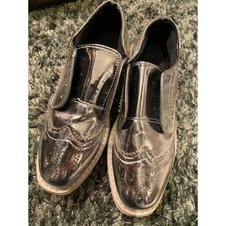 ローファー シルバー 5800円→2800円(ローファー/革靴)
