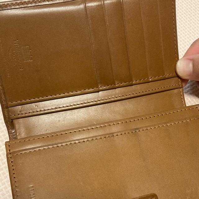 WHITEHOUSE COX(ホワイトハウスコックス)の専用 ホワイトハウスコックス Whitehouse Cox財布 メンズのファッション小物(折り財布)の商品写真
