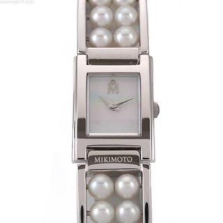 ミキモト(MIKIMOTO)のミキモト パール ホワイトシェル 時計(腕時計)