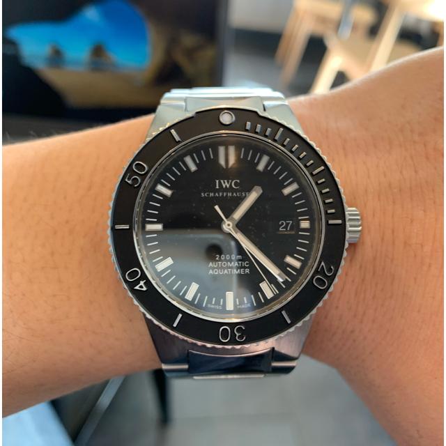 スーパーコピー 時計au - IWC - IWC GST アクアタイマー2000 IW353602 付属品完備 の通販 by ttt