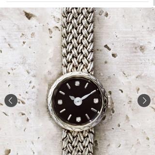 アガット(agete)のagete 時計 ラウンドフェイスウォッチ(腕時計)