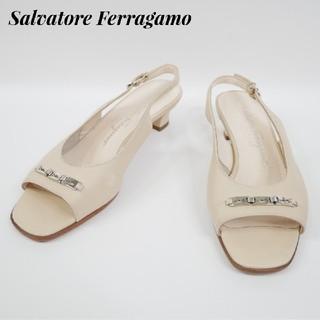 Salvatore Ferragamo - Salvatore Ferragamo  フェラガモ 6 1/2D サンダル