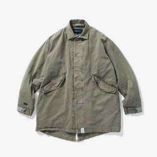 ダブルタップス(W)taps)の最終値下Descendant 18aw cricket twill jacket(モッズコート)