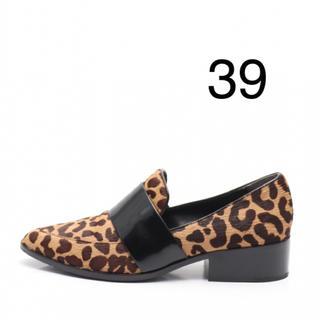 スリーワンフィリップリム(3.1 Phillip Lim)の3.1 phillip lim レオパード柄 ローファー(ローファー/革靴)
