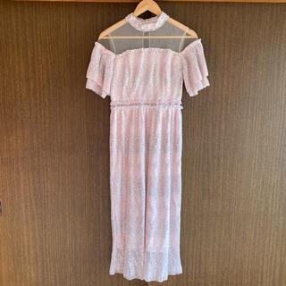 リリーブラウン(Lily Brown)のLily brown✴︎ロングワンピース ドレス 結婚式(ロングドレス)