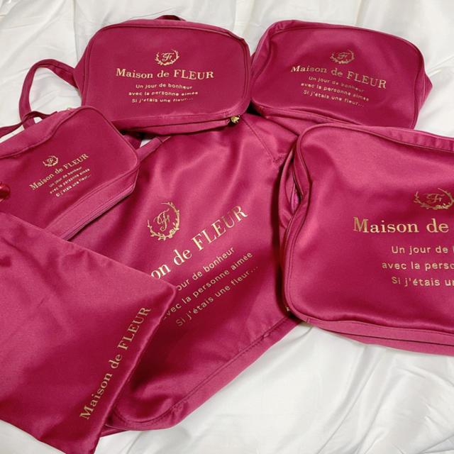 Maison de FLEUR(メゾンドフルール)のMaison de FLEURトラベルセット インテリア/住まい/日用品の日用品/生活雑貨/旅行(旅行用品)の商品写真