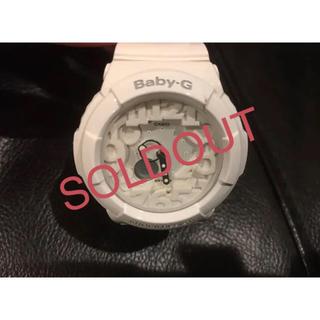 ベビージー(Baby-G)のCASIO Baby-G 腕時計 ホワイト 稼働中 ★最終価格★送料込み!!(腕時計)