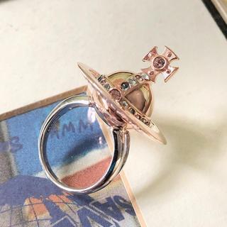 ヴィヴィアンウエストウッド(Vivienne Westwood)の新品 Vivienne ポイズンリング 3Dオーブ ピンク(リング(指輪))
