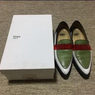 トーガ(TOGA)のTOGA ローファー 38(ローファー/革靴)