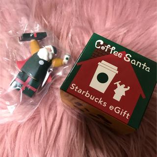 スターバックスコーヒー(Starbucks Coffee)のスタバ コーヒーサンタ 新品未開封 starbucks(その他)